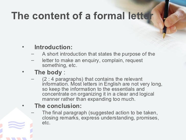 formal letter example pdf