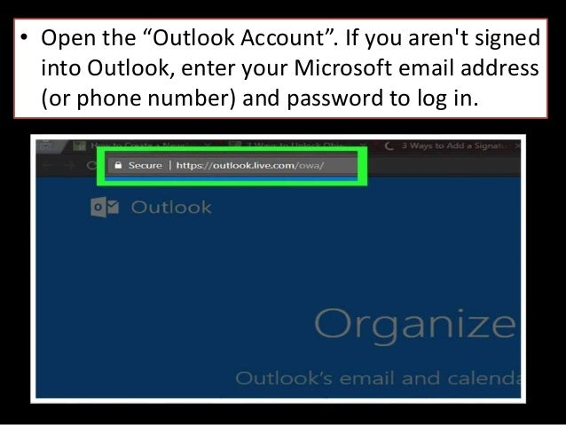 Msn sign in outlook live