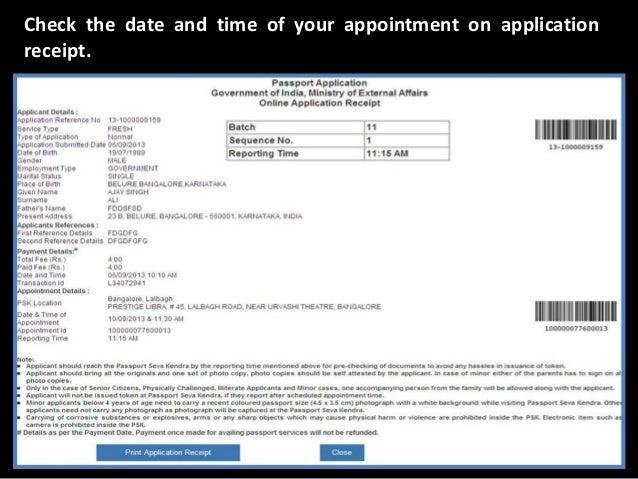 Indian Passport Renewal Form Pdf