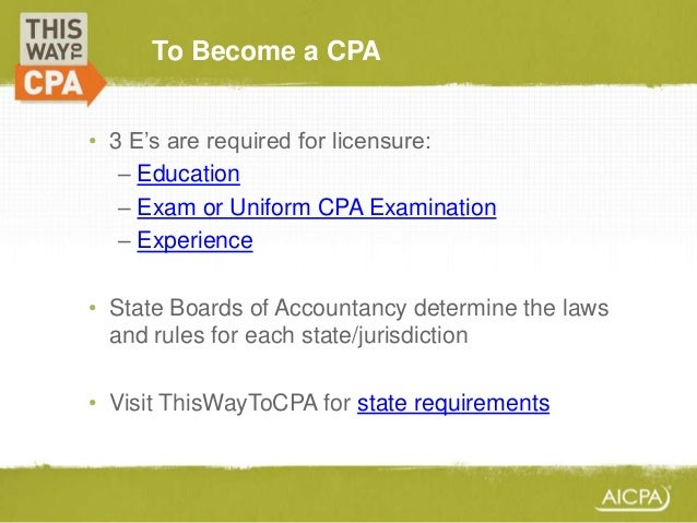 CPA in the USA
