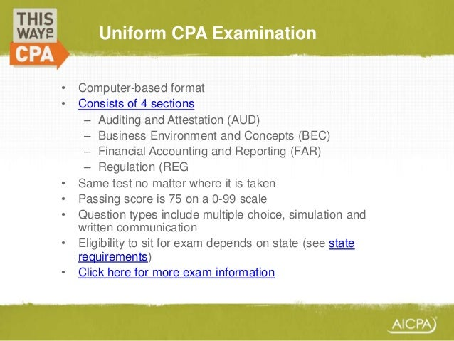 an introduction to becoming a certified public accountant cpa Becoming a certified public accountant (cpa) lachelle mitchell umuc- acct 221 what is a cpa these three letters mean that you.