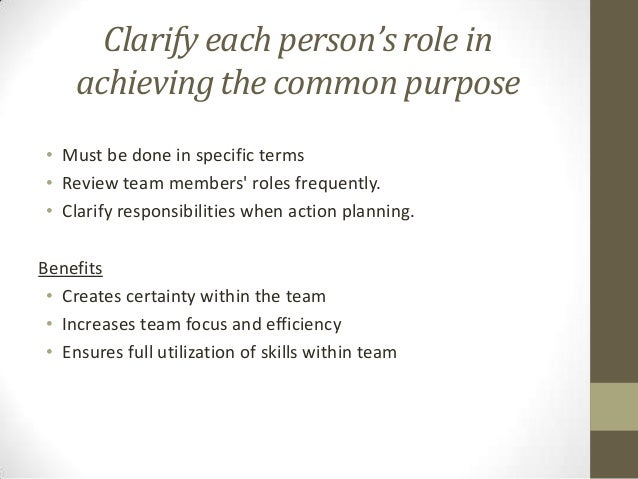 how to build an effective team player