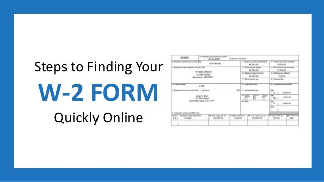 w2 form get online  Steps to Finding Your W-5 Form Quickly Online