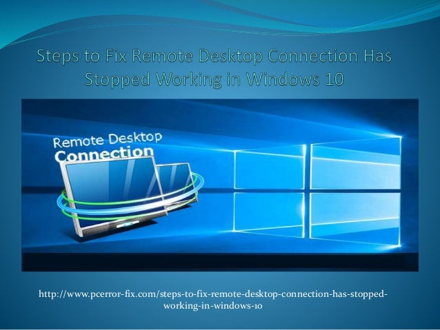 how to connect remote desktop in windows 8