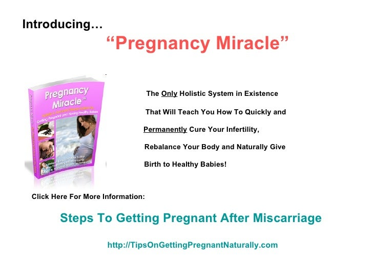 Steps On How To Get Pregnant