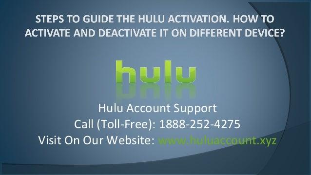 Hulu com deactivate