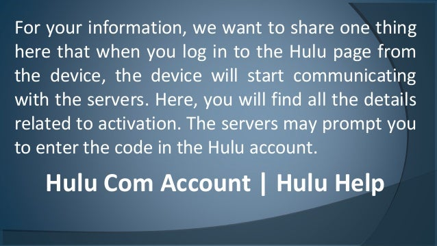 Steps To Guide The Hulu Activation  How To Activate And