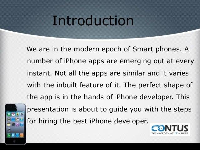 Steps to hire i phone developers Slide 2
