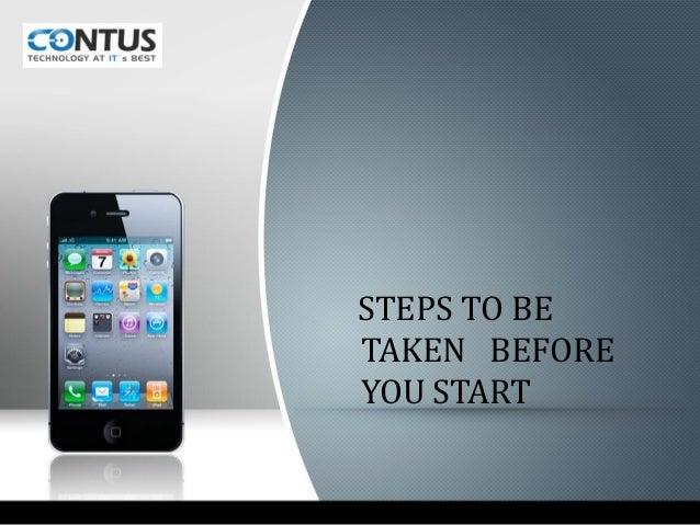 Steps to hire i phone developers Slide 3