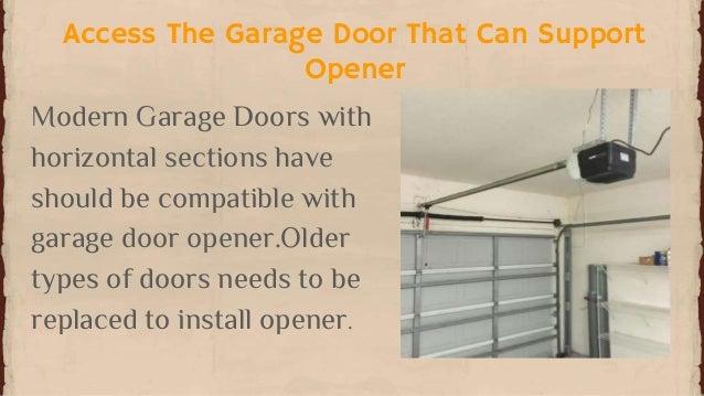 steps to install garage door opener presented by l u0026 s garage door 2