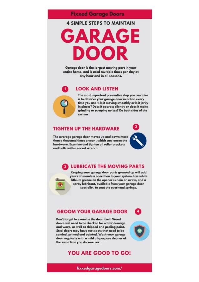 Steps To Maintain Garage Door Garage Door Service North Hollywood Ca Garage  Door Repair