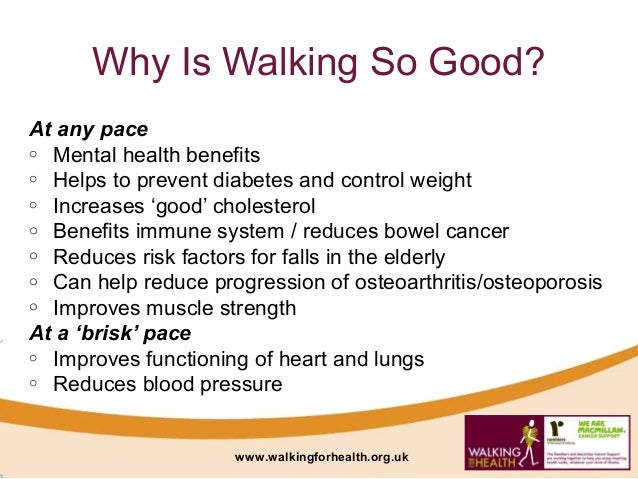 StepStone Walking for Health and the Benefits of Walking