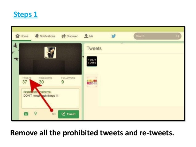Steps to Recover a suspended Twitter Account 18002402551 Call Support Phone Number Slide 3