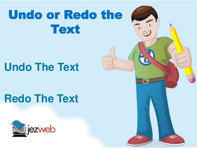 undo or redo changes in wordpress
