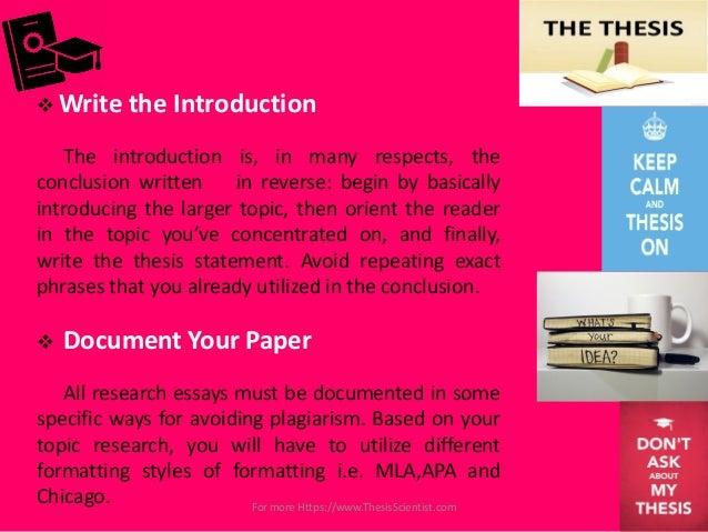 how to write a research paper thesisscientist com 20 iuml129para write