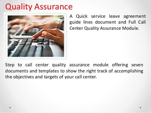 call center quality assurance job description