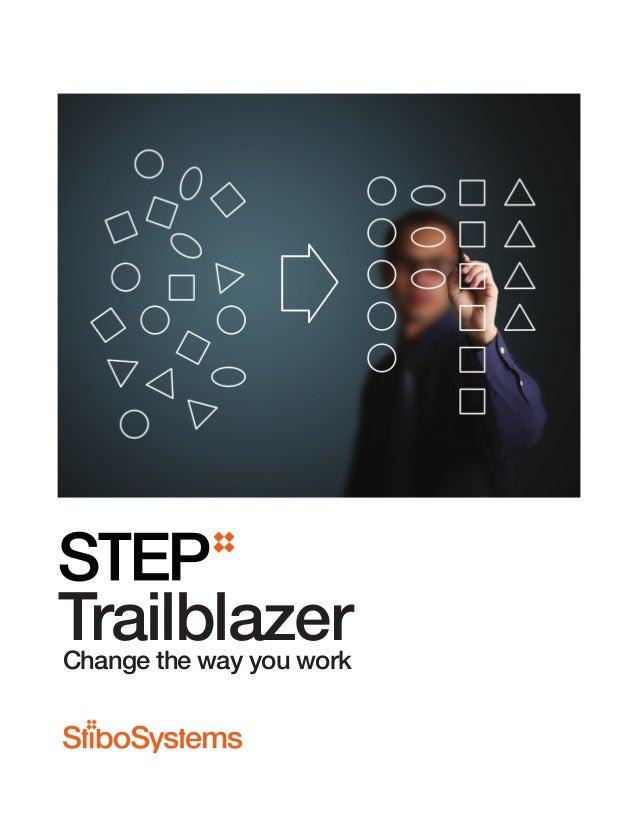 TrailblazerChange the way you work