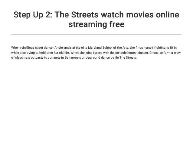 Step Up 2 Stream