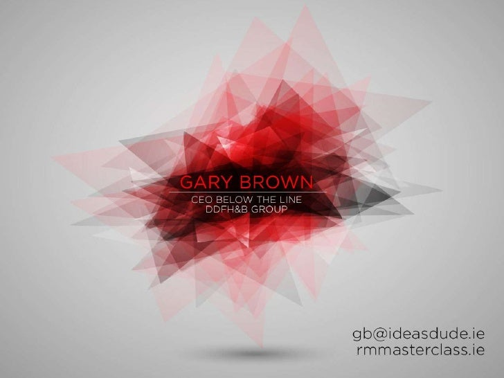 Step up or shut up with Gary Brown
