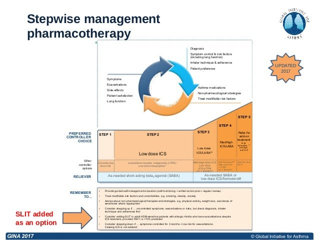 Stepwise Approach For Adjusting Asthma Treatment 2017