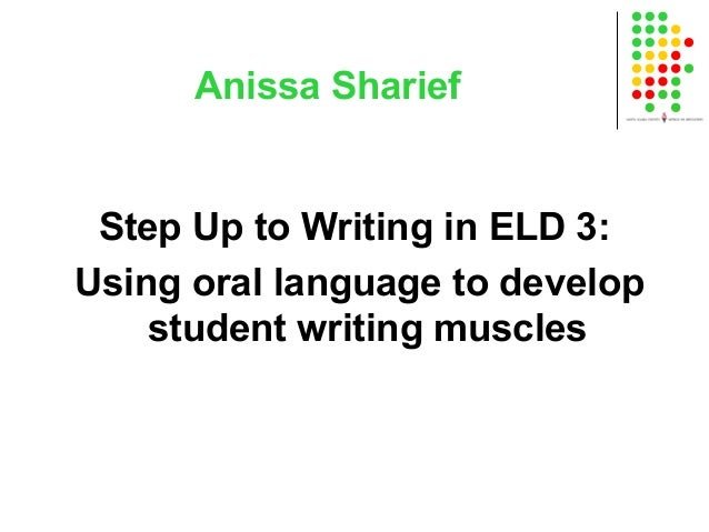 Step upto writing