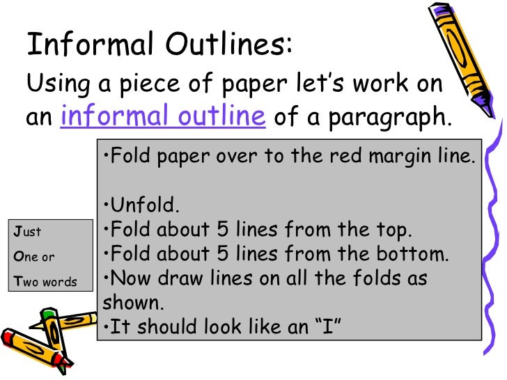step up to writing for kids informal outlines