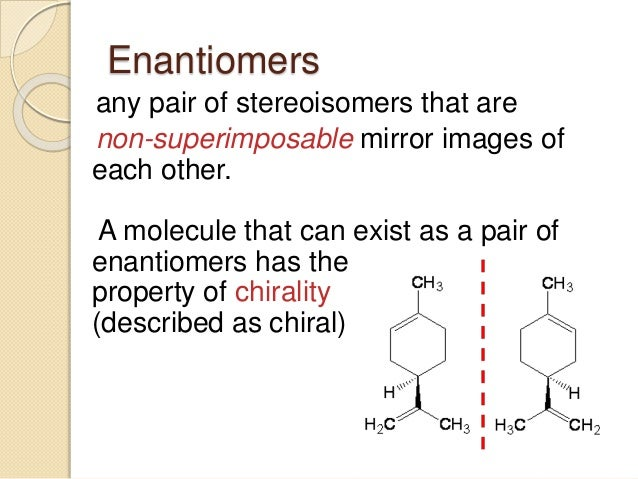 how to tell the difference between enantiomers and diastereomers