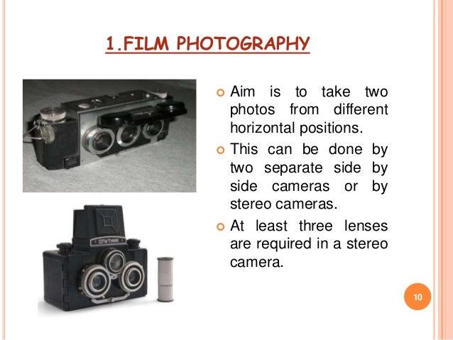 Stereoscopic imaging 1