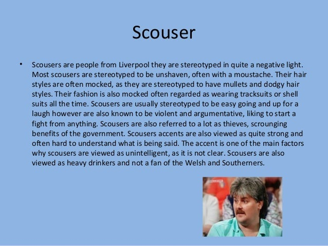 scouse accent stereotypes