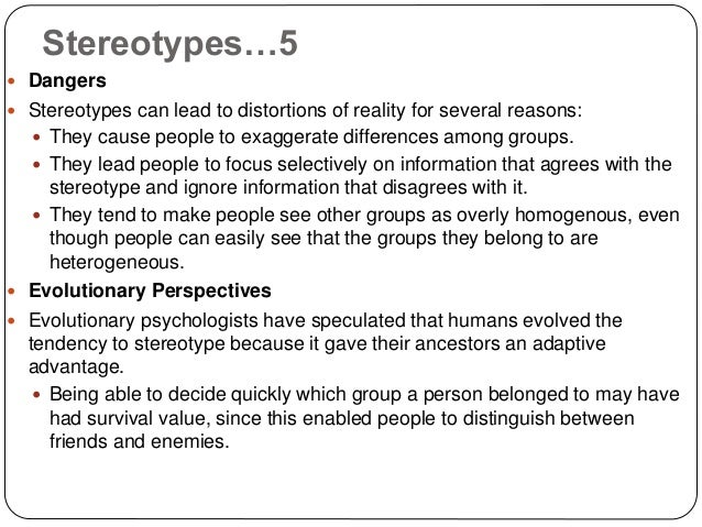 prejudice ant stereotypes among youth Multicultural, anti-bias, & diversity activities & exercises jump to: strategies and preparation | icebreakers | introspectives strategies and preparation: strategies for choosing and using activities and exercises for intergroup learning.