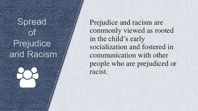 prejudice and communication