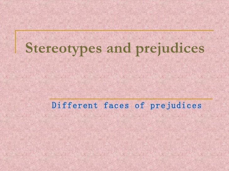 an overview of the purpose of the theories of stereotypes and stereotyping by stangor schaller