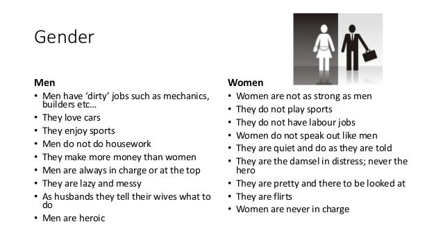 the common stereotypical views on women in the 1970s Gender roles and society amy m blackstone  additional structural conditions such as women  traditional views of gender roles to be leaders.