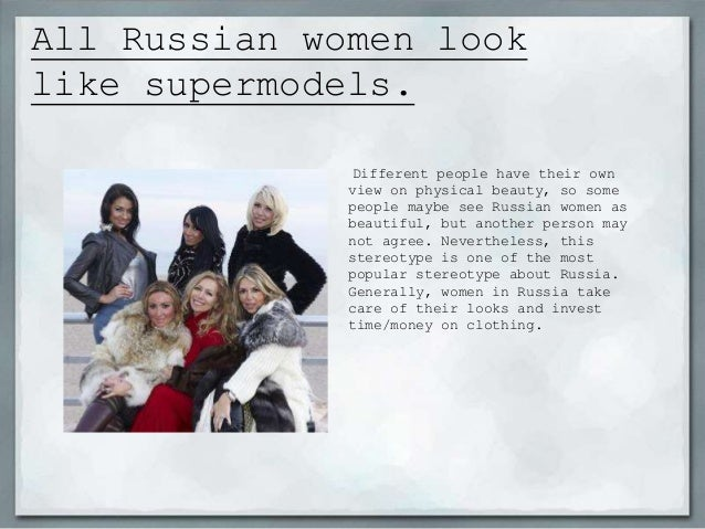 Notorious Stereotypes About Russian Women 64