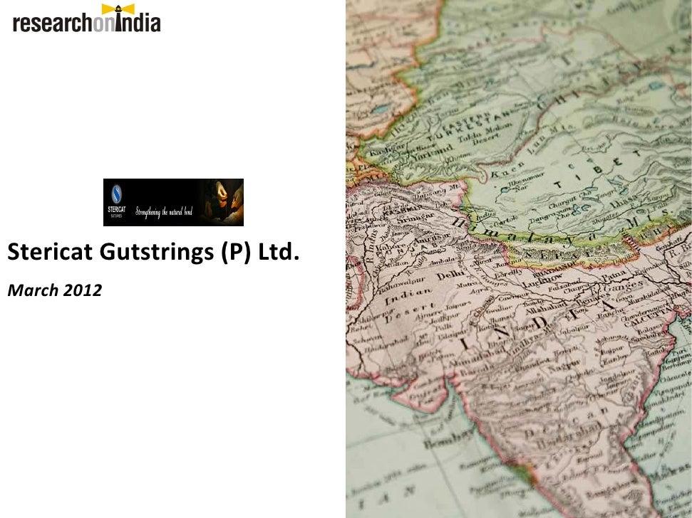 Stericat Gutstrings (P)Ltd.March2012