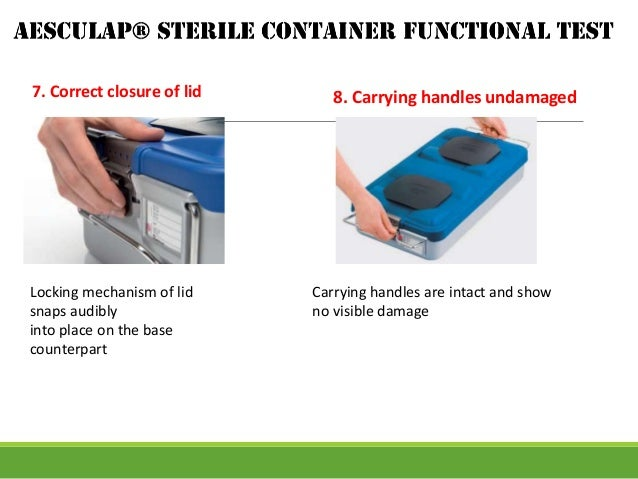 Sterile container system