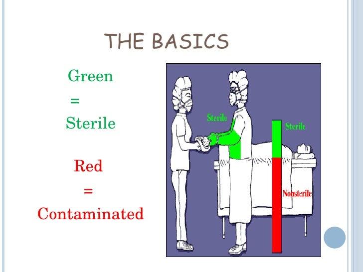 principles of sterile technique nursing
