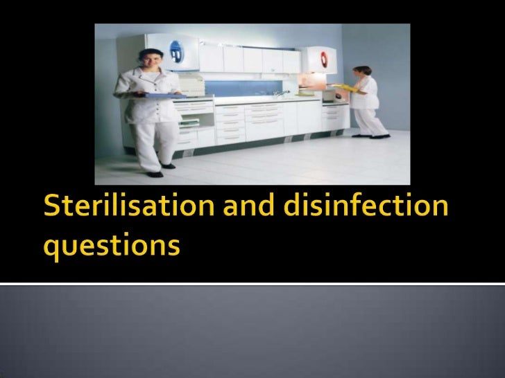    Discuss 3 methods used to prevent cross    infection