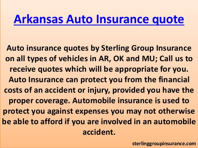 Auto Insurance Quote Oklahoma