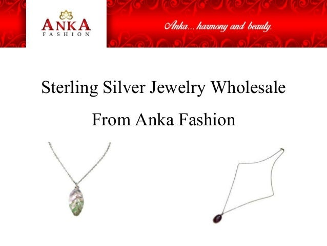 Sterling Silver Jewelry Wholesale From Anka Fashion