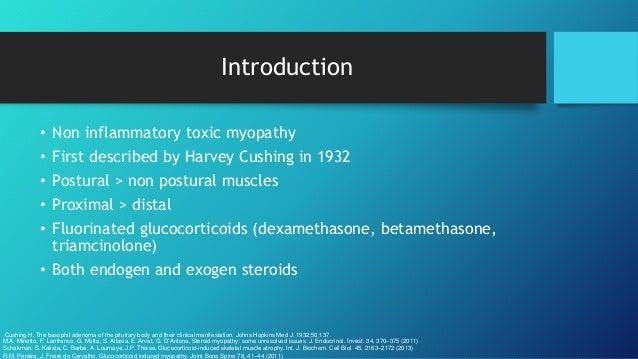 Steroid myopathy organon teknika gmbh