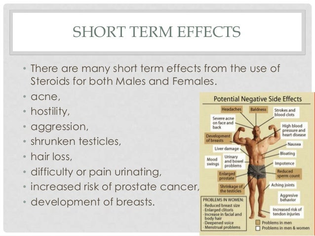 the effects of long term usage of steroids Abusing steroids for a long period of time can cause an array of health problems watch this video to learn the effects of long-term steroid abuse.