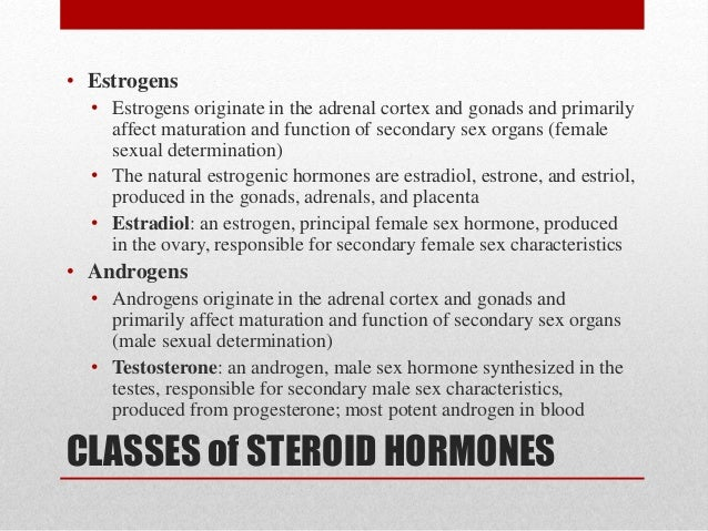 hormones that affect secondary sex characteristics of the male in Midland