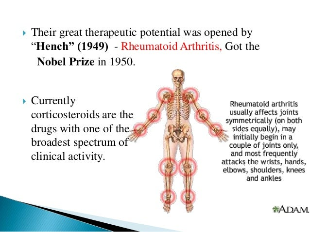 Side effects of steroids for arthritis