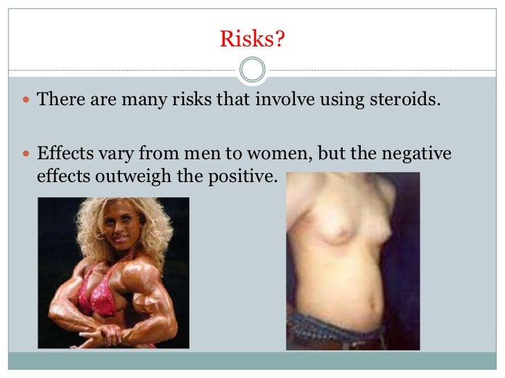 side effects of steroids for women