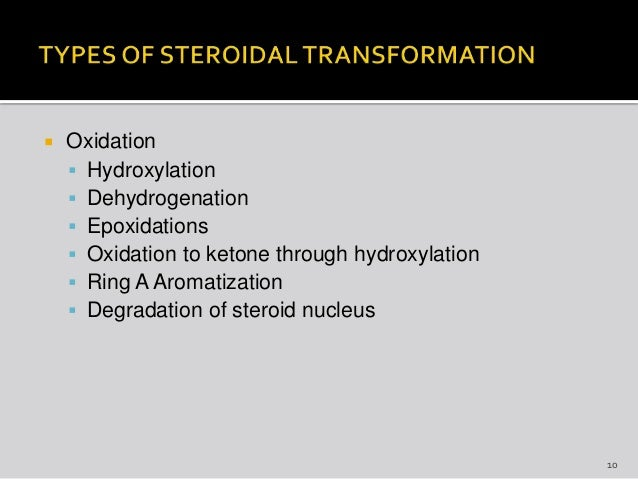 microbiological transformation of steroids Read microbial steroid transformations: current state and prospects, applied microbiology and biotechnology on deepdyve, the largest online rental service for scholarly research with thousands of academic publications available at your fingertips.