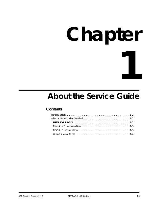 Sterrad 100 sterilizer_-_service_guide