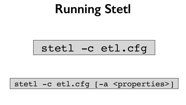 Geospatial ETL with Stetl - GeoPython 2016
