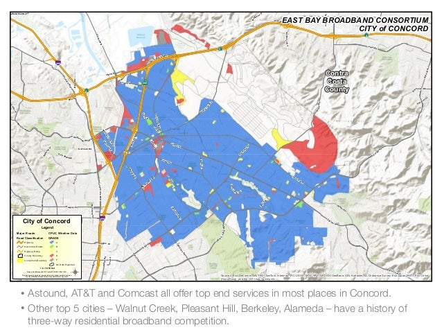 East Bay Broadband Infrastructure Report Card