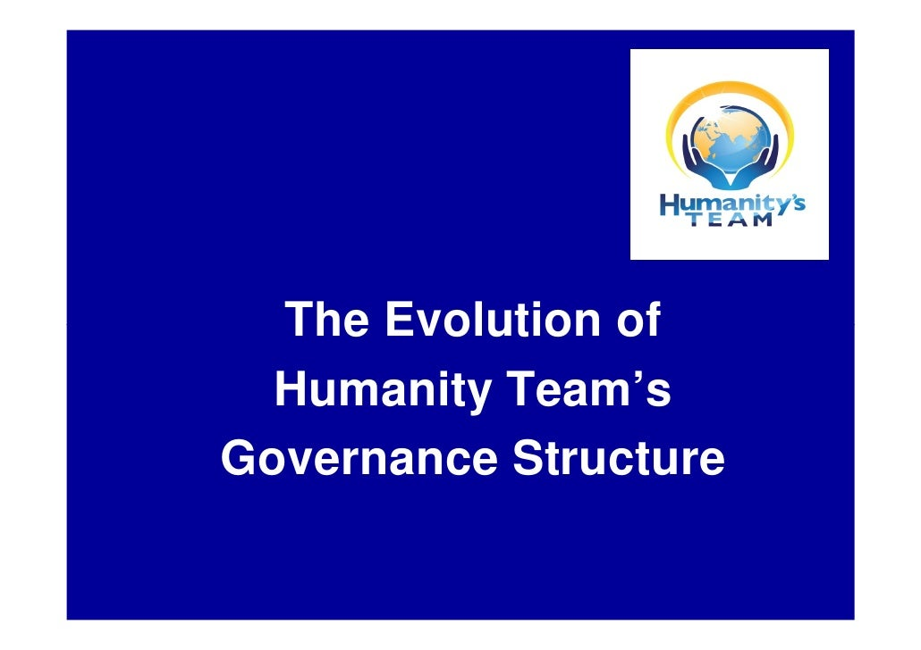 The Evolution of   Humanity Team's Governance Structure